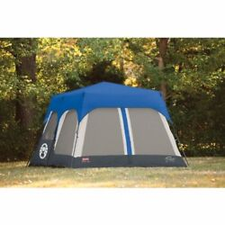 14x10-Feet Camping Instant 8 Person Tent Accessory Blue Sports Hikking Cabin
