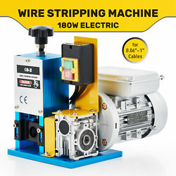 Portable Powered Electric Wire Stripping Machine Cable Stripper Metal Tool Scrap $122.89