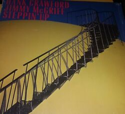 Crawford Hank & Jimmy McGriff- Steppin Up- Milestone Records- 1987