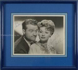 DU BARRY WAS A LADY MOVIE CAST - PHOTOGRAPH SIGNED WITH CO-SIGNERS
