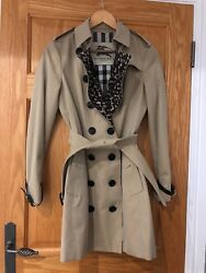 Burberry Sandringham Trench Coat - Limited Edition Leopard Lining