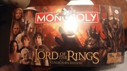 LORD OF THE RINGS COLLECTOR'S EDITION MONOPOLY Factory sealed!