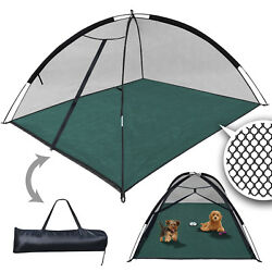 Large Outdoor Mosquito Habitat Cats Dog Pet Play House portable exercise Tent $34.99