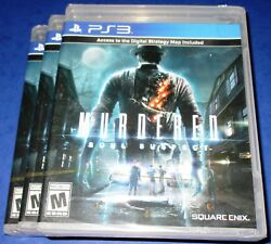 Lot of 3 Murdered: Soul Suspect PlayStation 3 - PS3 - Factory Sealed! Free Ship!
