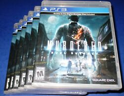 Lot of 6 Murdered: Soul Suspect PlayStation 3 - PS3 - Factory Sealed! Free Ship!