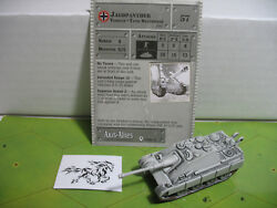 Axis & Allies Base Set Jagdpanther with card 26/48 $7.00