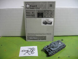 Axis & Allies Reserves Turan I with card 37/45 $3.00