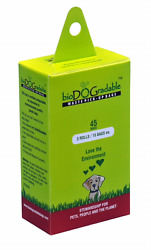 Dog Poop Bags 45 Compostable Bags for Pet Waste pick Up $5.99