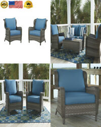 Ashley Furniture Signature Design - Abbots Court Outdoor Lounge Chair with...