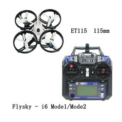 ET115 Quadcopter Brushless FPV RC Racer Racing Drone w FS i6 RC Transmitter $200.08