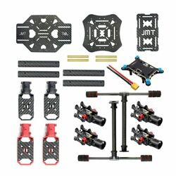 X4 460mm / 560mm Carbon Fiber Foldable Frame with Landing Skid for RC Quadcopter $88.48