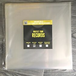 Outer vinyl record plastic cover sleeves 12inch
