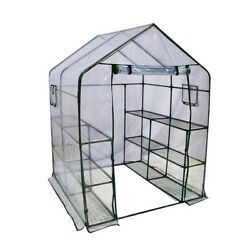 Greenhouse Kit Portable Mini Walk In Green House 6 Shelves Stands 3 Tiers Racks