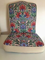Replacement Chair Cushion for Outdoor Patio and Poolside Furniture