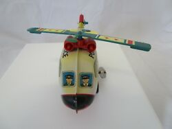 WIND UP POLICE HELICOPTER TOY RUSS BERRIE AND CO. NEAT WIND UP TOY $14.95