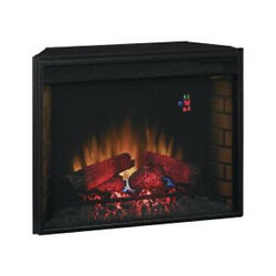 Classic Flame 28″ 28EF023SRA Electric Fireplace Insert w Mesh Front