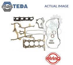 ENGINE TOP GASKET SET ELRING 744150 I NEW OE REPLACEMENT