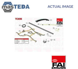 ENGINE TIMING CHAIN KIT FAI AUTOPARTS TCK98 G NEW OE REPLACEMENT