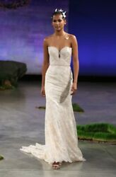 Beautiful Ines Di Santo Wedding Dress Honey