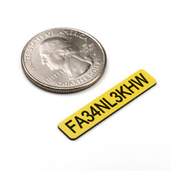 FAA DRONE REGISTRATION TAG STICKER ENGRAVED $5.99