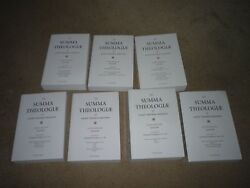 The Summa Theologiae of Thomas Aquinas Latin-English Volumes 1-7 $175.00