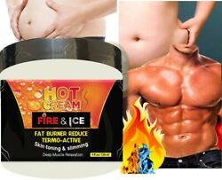 Men Slimming Cream Fat Burning Muscle Belly Stomach Reducer Weight Loss Gel USA $10.99