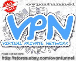 OpenVPN SERVICE Premium 31 Days  Fast VPN  Dedicated Account  Unlimited Data