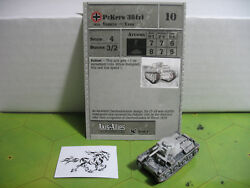 Axis & Allies Reserves PzKpfw 38(t) with card 30/45 $5.00