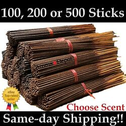 Incense Sticks Hand Dipped Large Premium Variety Wholesale lots 20 100 200 500