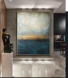 HH081 Modern Home decoration abstract oil painting Hand painted on canvas $40.14