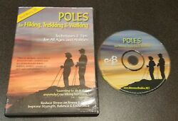 Poles for Hiking Trekking and Walking DVD Adventure Buddies tips amp; techniques $8.99
