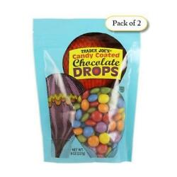 Trader Joe's Candy Coated Chocolate Drops 8oz Pack of 2 $24.99