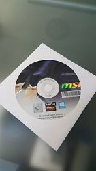 MSI Driver and Utility DVD G71 VAT1024 N56 $1.00