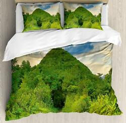 Vivid Modern Duvet Cover Set Twin Queen King Sizes with Pillow Shams