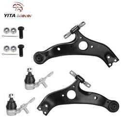 4X Front Lower Control Arms For 1999 2000 2001 2002 2003 2004-2010 VW Jetta Golf