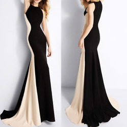 Sexy Women Sleeveless Bodycon Evening Cocktail Dress Party Long Ball Gown Formal $18.98