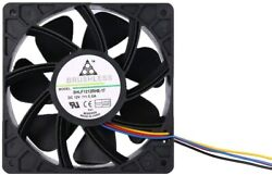 Antminer Bitmain 7500RPM Dual Ball Bearing 4 pin Connector Replacement FAN 5.0A $17.99