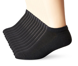 Hanes 6 Pack Classics No Show Mens Socks Sock Size: 10 13 Shoe Size: 6 12 $9.29