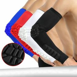 1pc Sport Football Basketball Arm Sleeve Crashproof Elbow Pad Support Wrap Cool
