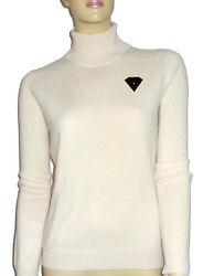 Luxe Oh` Dor 100% Cashmere Sweater Diamond 010ct Gold 18 K 461623.1oz XL