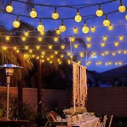 Outdoor Solar Powered 30 LED String Light Garden Patio Yard Lamp Party Wedding $13.58