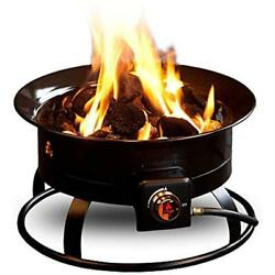 Fire Pits Outland Firebowl 823 Outdoor Portable Propane Gas Pit 19-Inch 58000