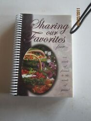 Sharing Our Favorites Amish Cookbook New $7.95