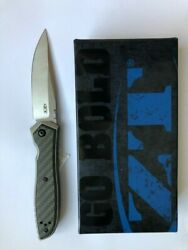 ZT Zero Tolerance Emerson 0640 Folding Knife 20CV Blade Carbon Fiber Frame Lock $230.95