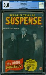 Suspense 1 CGC 3.0 - White Pages