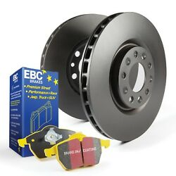 EBC Brakes S13KR1394 S13 Kits Yellowstuff and RK Rotors