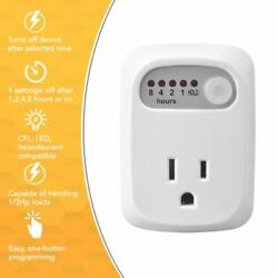 Simple Touch Auto Shut Off Safety Outlet Multi Times Electrical Countdown Timer