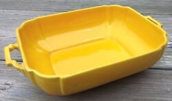 Vintage Homer Laughlin Riviera Yellow Casserole $54.99