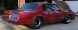 Monte Cutlass Malibu Regal G-body Pro Street Touring Drag chassis (1 avail now)