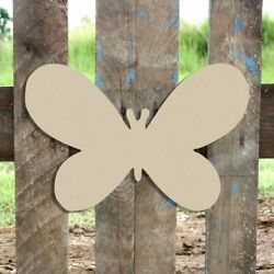 Wood Butterfly Shape Unfinished Shape Wooden Butterfly Cutout Paintable